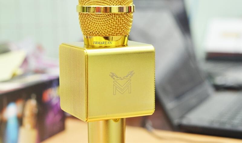 Micro X6 Kèm Loa Chính Hãng - Logo khắc CNC tinh tế, đẹp đến từng mm.