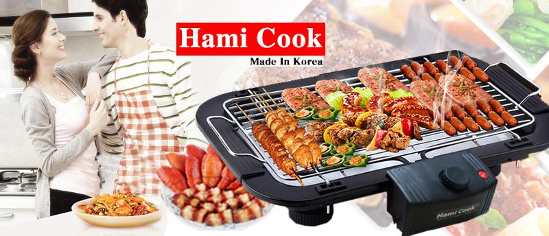 Bếp Nướng Không Khói Hami Cook Korea.