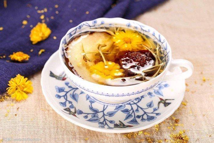 Trà Hoa Cúc Thiên Bằng.